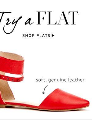 Try a Flat: Shop Flats