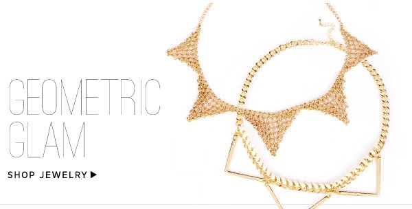 Geometric Glam: Shop Jewelry