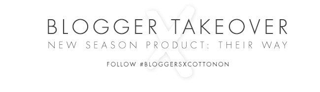 Blogger Takeover