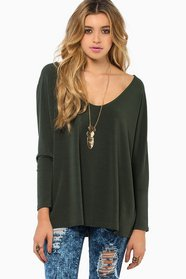 Close For Comfort Top