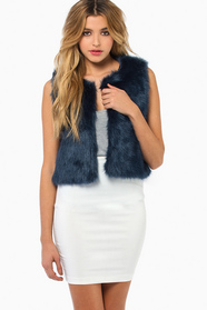 Crop Or Drop Vest