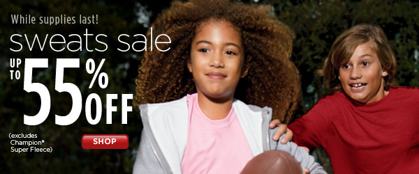 SHOP Kids' Sweats Sale