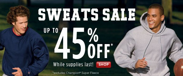 SHOP Sweats Sale