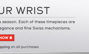 Indulge in a fine Tissot Swiss watch this season. Each of these timepieces are sure to dazzle with their exquisite elegance and fine Swiss mechanisms.