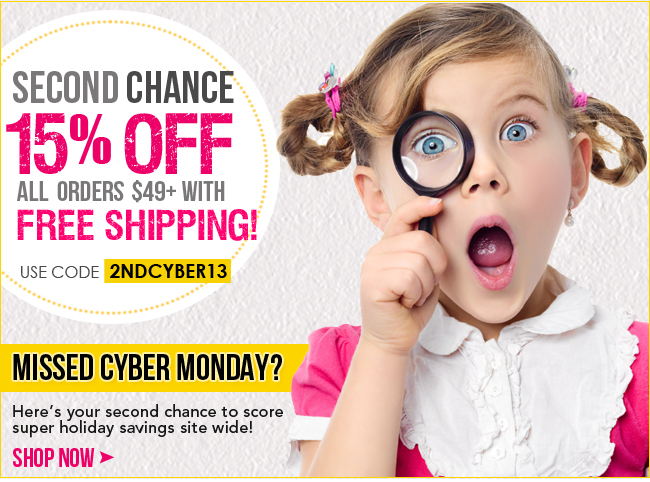 Second Chance Cyber Monday Deal