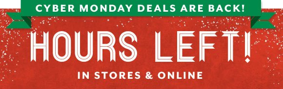 HOURS LEFT! Up to 70% Off Favorite Gifts