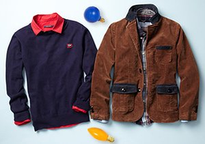 Warm Hues: Boys' Apparel