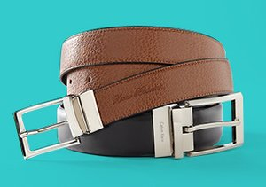 Double Duty: Reversible Belts