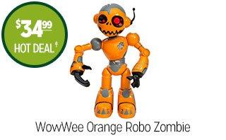 WowWee Orange Robo Zombie - $34.99 - HOT DEAL‡