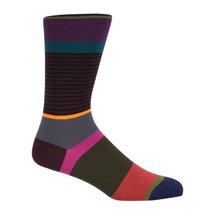 Multi-Coloured Stripe Socks