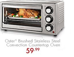 Oster® Brushed Stainless Steel Convection Countertop Oven 59.99
