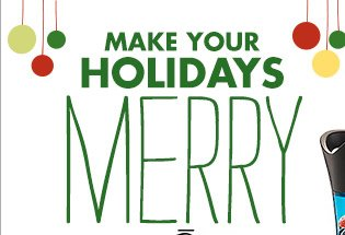 MAKE YOUR HOLIDAYS MERRY WITH Oster