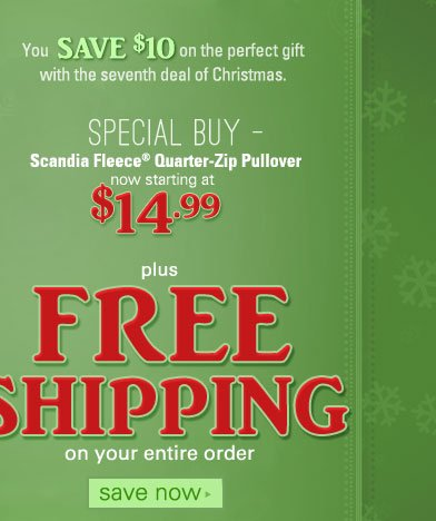 Plus FREE SHIPPING on your entire order, click to shop now.