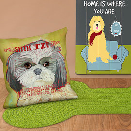 Home Full of Pets: Décor & Textiles