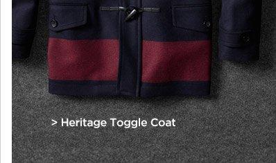Heritage Toggle Coat