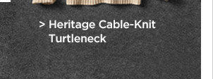 Heritage Cable-Knit Turtleneck