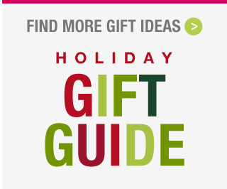The Holiday Gift Guide: Find the perfect gift!