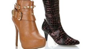 High Heel Boots and Booties