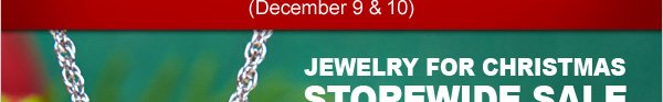 JEWELRY FOR CHRISTMAS STOREWIDE SALE + FREE Shipping + FREE Corinthian Love Pendant