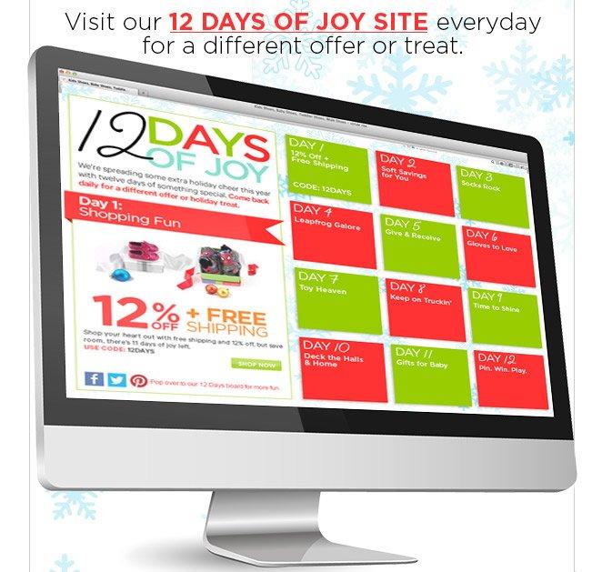 12 Days of Joy