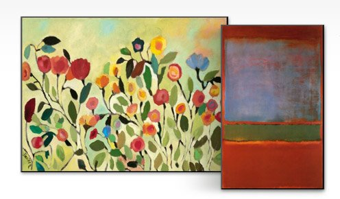 Wild Field By: Kim Parker; Violet Green and Red 1951 By: Mark Rothko