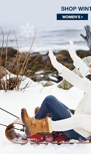 SHOP WINTER BOOTS FOR WOMEN