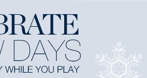 STAY WARM & DRY WHILE YOU PLAY