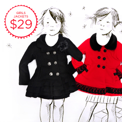 Coated in Cute: Girls Outerwear