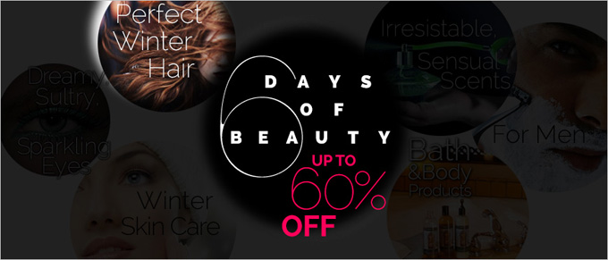 6 Days of Beauty: Perfect Winter Hair Products. Save Up to 60% Off