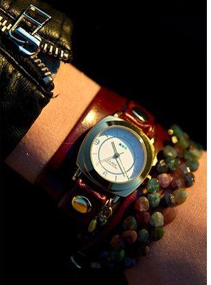 Tesoro-Wine Wrap Watch