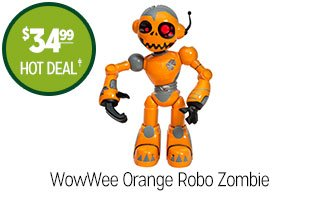 WowWee Orange Robo Zombie - $34.99 - HOT DEAL‡