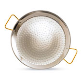 Stainless Steel Paella Pan - 13 Inches