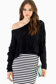 Secretly Solid Knit Sweater