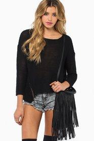 Double Zip Sweater