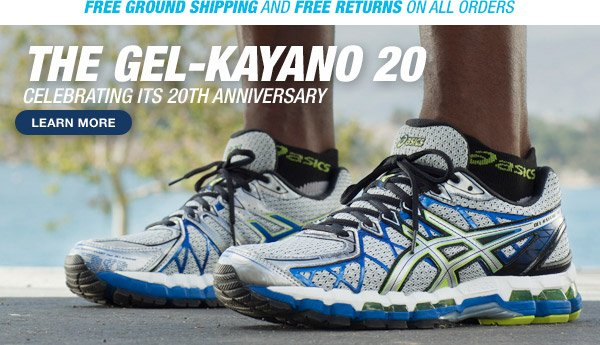 Learn more about the GEL-Kayano 20 - Hero
