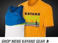 Shop the Mens Kayano Gear - Promo A