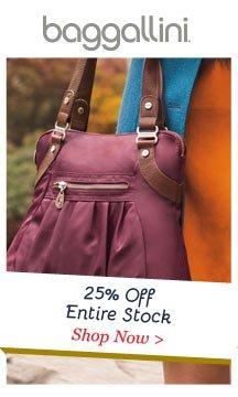 Shop baggallini 25% Off