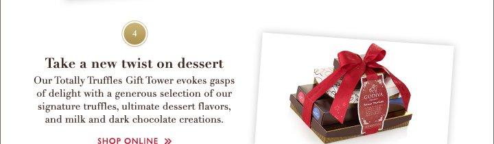 4 Take a new twist on dessert