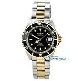Invicta 8927C Men's Pro Diver Black Dial Two Tone Bracelet Automatic Dive Watch with Coin Edge Bezel