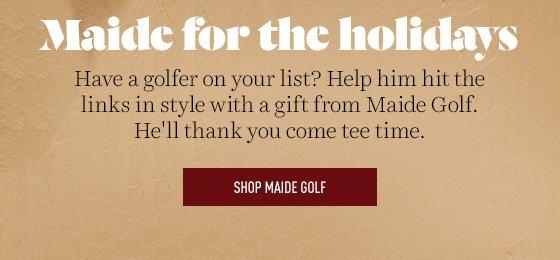 Shop Maide Golf