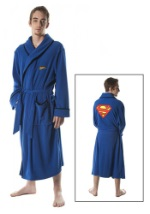 Superman Micro Polar Fleece Robe