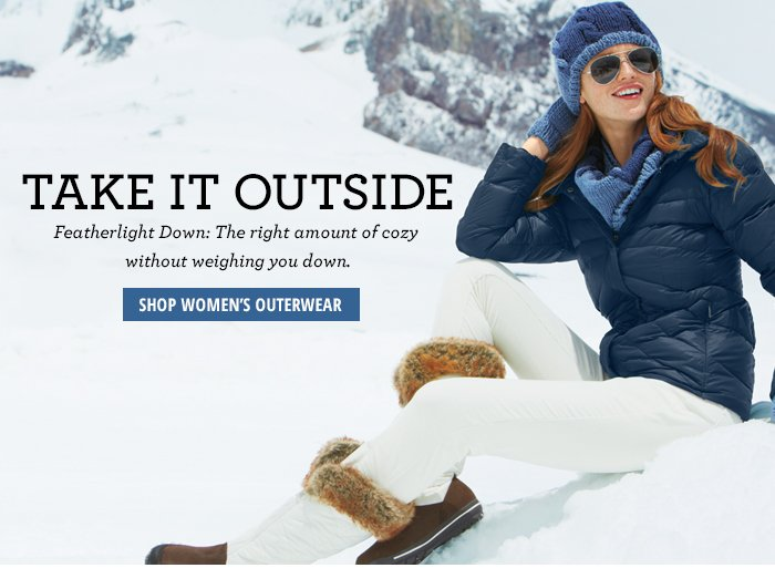 Take it Outside - Women's Outerwear