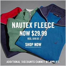 Nautex Fleece Now $29.99!