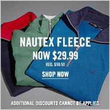 Nautex Fleece Now $29.99!