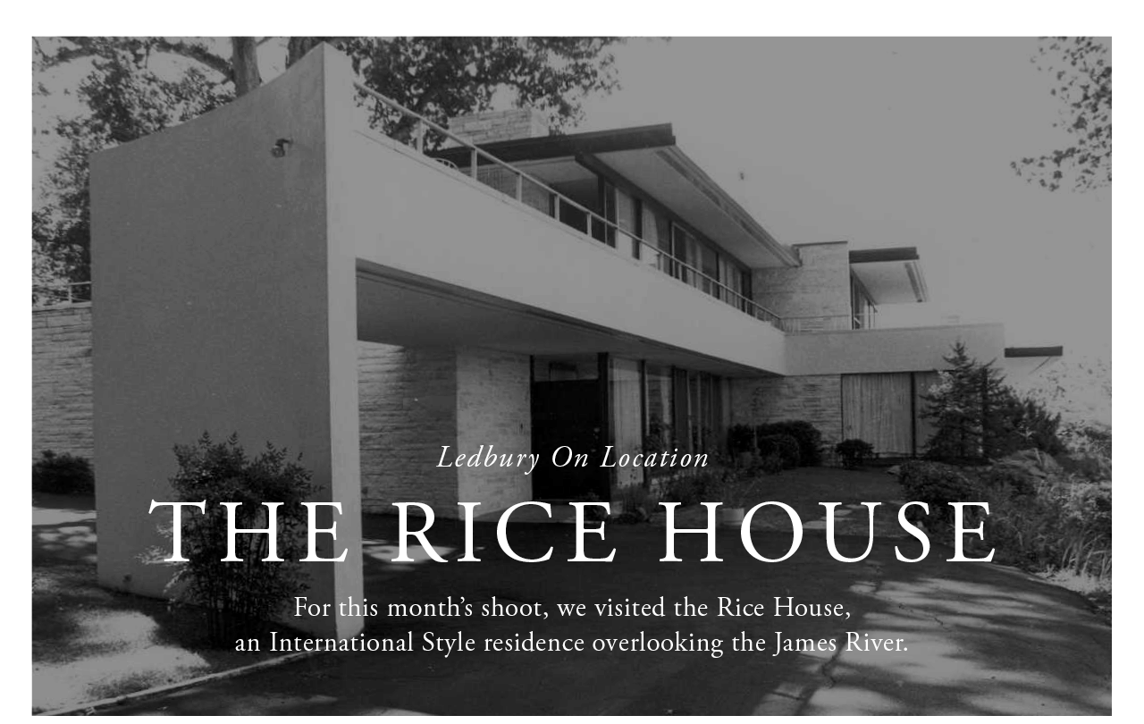 On Location - The Rice House