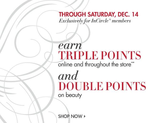 TRIPLE Points Event!