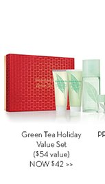 Green Tea Holiday Value Set ($54 value) NOW $42.