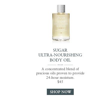 SUGAR ULTRA-NOURISHING BODY OIL