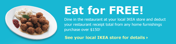 Eat for FREE at your local IKEA store