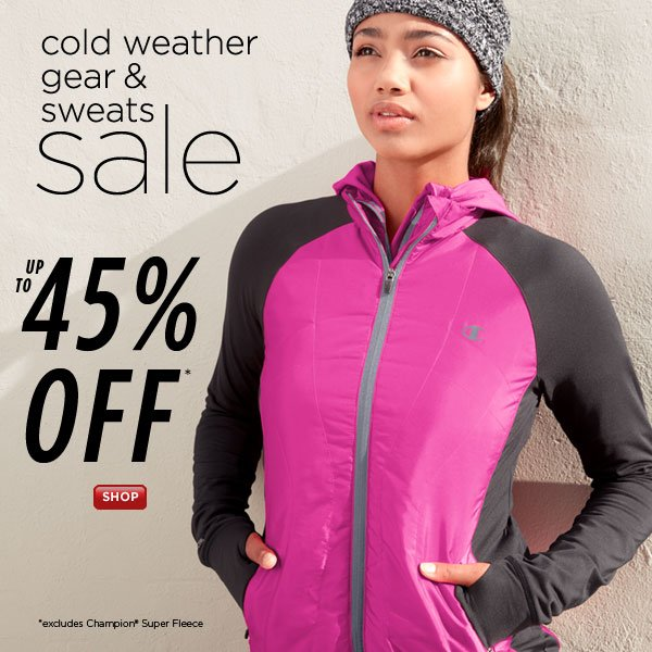 SHOP Cold Weather Gear and Sweats